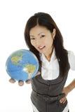 日本妇女 免版税库存图片