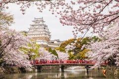 日本姬路城堡 免版税库存照片