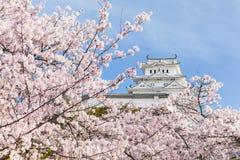 日本姬路城堡 库存照片