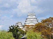 日本姬路城1 免版税库存图片
