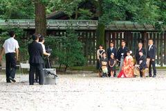 日本婚礼 免版税库存照片