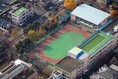 日本学校 库存照片