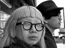 日本学生 免版税库存照片