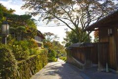 日本家谷 免版税图库摄影