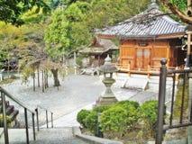 日本寺庙和庭院在京都 免版税库存照片