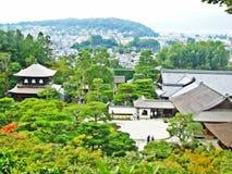 日本寺庙在京都 库存照片