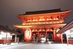 日本寺庙,浅草Sensoji 图库摄影