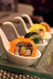 日本寿司卷 图库摄影
