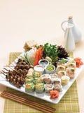 日本寿司开胃小菜 图库摄影