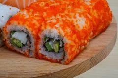 日本寿司集合 免版税库存图片