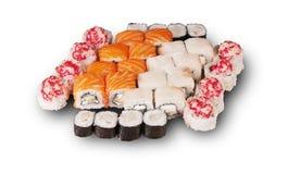 日本寿司 集合 免版税图库摄影