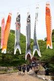 日本小学的游览 免版税图库摄影