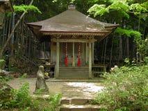 日本小的寺庙 免版税库存照片