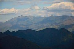 日本山风景 免版税库存图片
