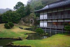 日本平安的风景 免版税库存图片