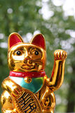 日本幸运的猫Maneki Neko 免版税图库摄影