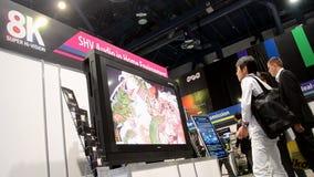 日本广播协会提出喂视觉8K录影系统, NAB在拉斯维加斯,美国显示2014年, 股票录像