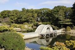 日本庭院 免版税库存照片
