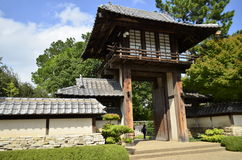 日本庭院 库存照片