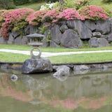 日本庭院 免版税图库摄影