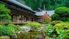 日本庭院II 库存图片