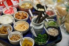日本开胃菜 库存图片