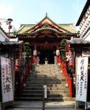 日本式寺庙 免版税库存图片