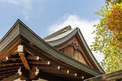 日本式屋顶 库存照片