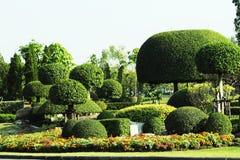 日本式庭院在Suan Louhng Rama 9在Bangkapi区泰国 免版税库存照片