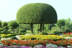 日本式庭院Suan Louhng Rama 9在Bangna 免版税库存图片