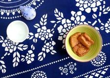 日本式炖了豆腐吹 库存照片