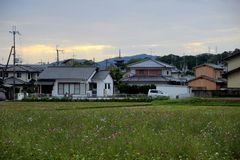 日本房子 免版税库存图片