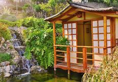 日本房子 库存图片