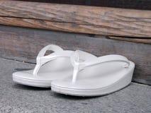 日本拖鞋妇女 库存图片