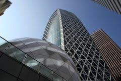 日本摩天大楼 免版税库存图片