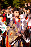 日本教士日本之神道教东京 免版税库存图片