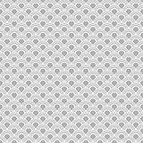 日本无缝的传染媒介样式 传统东方波浪背景 灰色白色 免版税库存图片