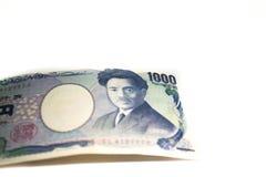 日本日元钞票 库存照片