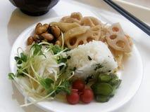 日本早餐 免版税库存图片