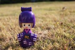 日本木玩具 免版税库存图片