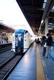日本机场火车- NEX 免版税库存照片