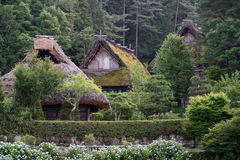 日本村庄 库存图片
