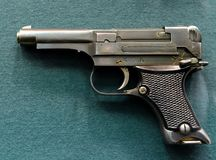 日本枪` Nambu ` 免版税库存照片