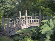 日本桥梁 库存照片