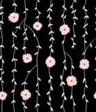 日本植物样式 免版税库存图片