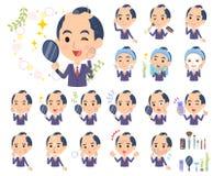 日本武士Businessman_beauty 免版税图库摄影