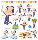 日本武士Businessman_food节日 库存图片