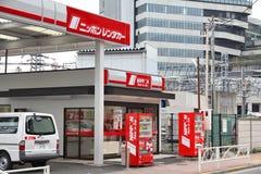 日本汽车租 免版税库存图片
