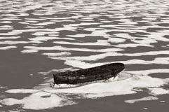 日本海。 冬天 免版税库存图片