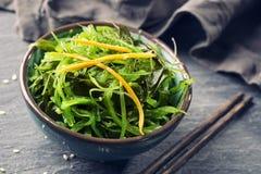 日本海草沙拉 免版税库存图片